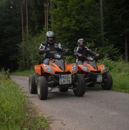 Quadtouren ab Limbach durch den Odenwald