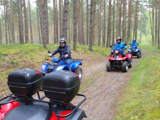 quad tour-rheinsberg-forest tour